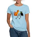 Fish Bowl Kittys Women's Light T-Shirt