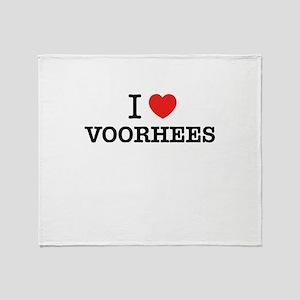 I Love VOORHEES Throw Blanket