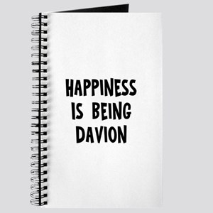 Happiness is being Davion Journal