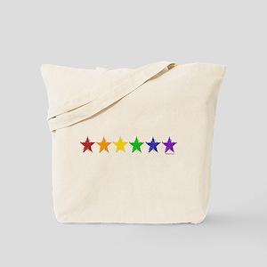Gay Pride Stars 2 Tote Bag