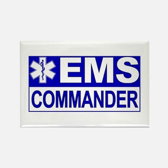 EMS Commander Rectangle Magnet