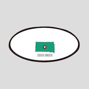South Dakota State Heart Patch