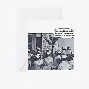 Nursing Class Doohicky Greeting Cards