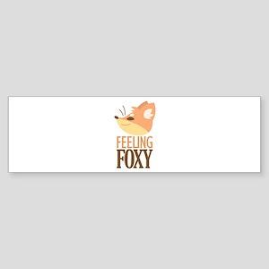 Feeling Foxy Bumper Sticker