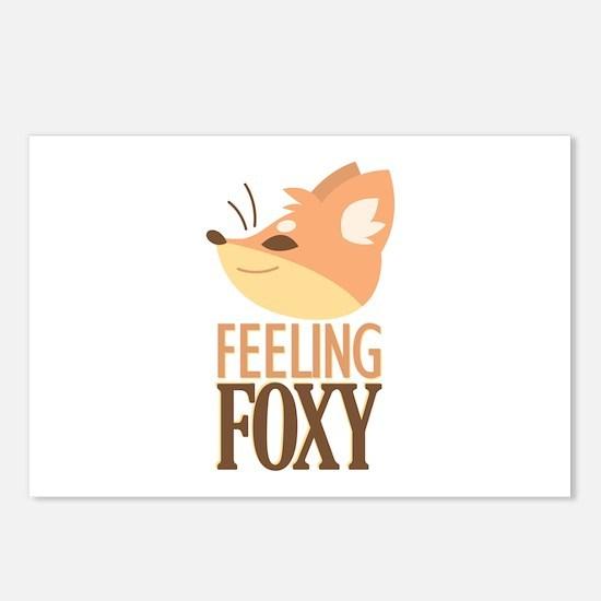 Feeling Foxy Postcards (Package of 8)