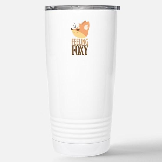 Feeling Foxy Travel Mug