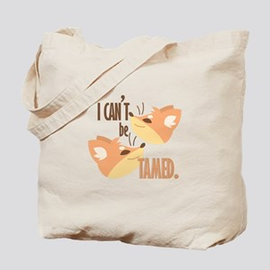 Cant Be Tamed Tote Bag
