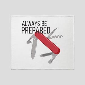 Always Prepared Throw Blanket