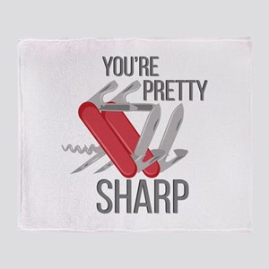 Pretty Sharp Throw Blanket
