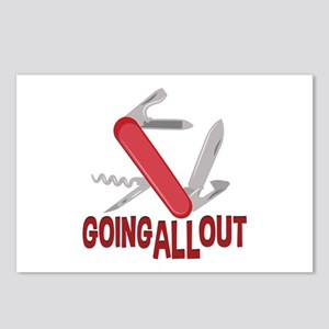 Going All Out Postcards (Package of 8)