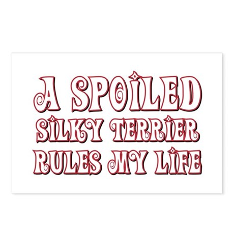 Spoiled Silky Postcards (Package of 8)
