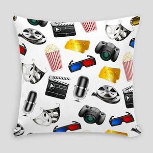 MOVIE NIGHT Everyday Pillow