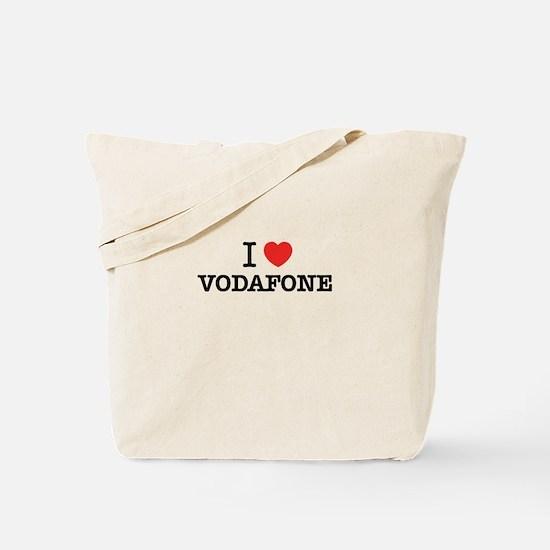 I Love VODAFONE Tote Bag