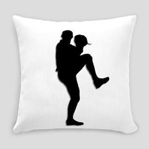 Baseball Pitcher Everyday Pillow