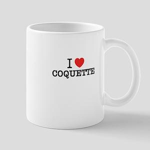 I Love COQUETTE Mugs
