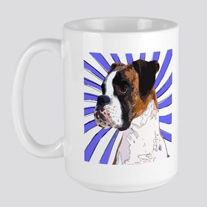 Pop Art Boxer Large Mug