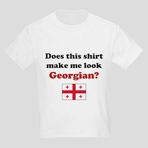 Make Me Look Georgian Kids Light T-Shirt