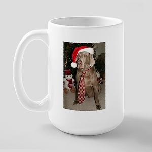 Cooper At Christmas Large Mug Mugs