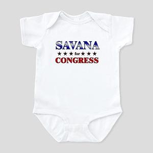 SAVANA for congress Infant Bodysuit