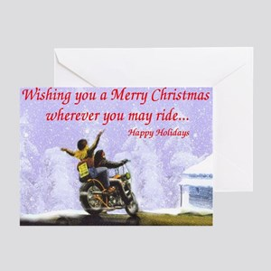 Motorcycle greeting cards cafepress biker cards greeting cards pk of 20 m4hsunfo