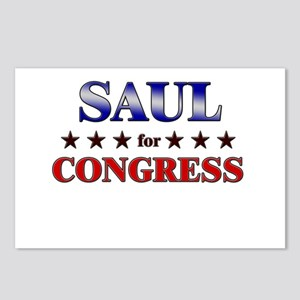 SAUL for congress Postcards (Package of 8)