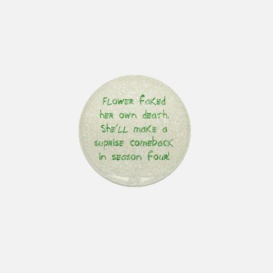 Flower - Mini Button