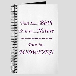Midwife Advocacy Blank Journal