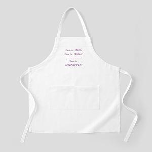 Midwife Advocacy BBQ Apron