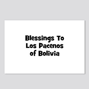 Blessings To Los Pacenos of B Postcards (Package o