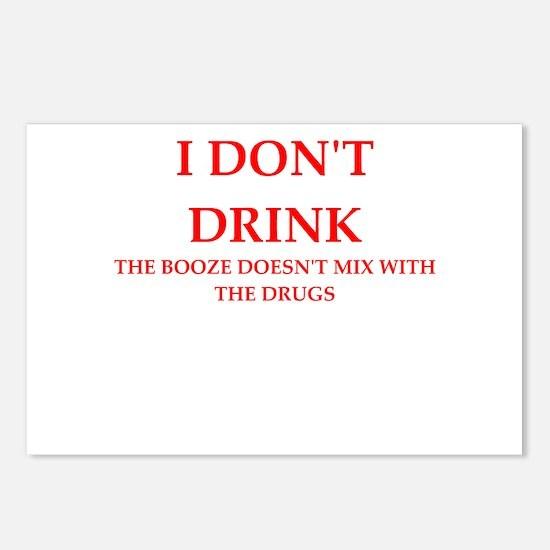 drink Postcards (Package of 8)