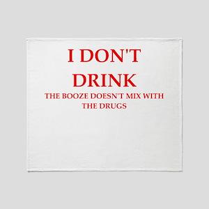 drink Throw Blanket