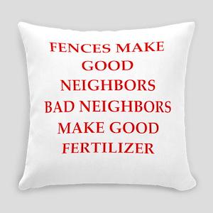 fences Everyday Pillow