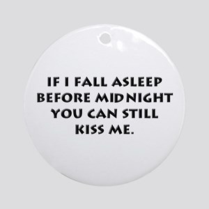 Funny New Year Ornament (Round)