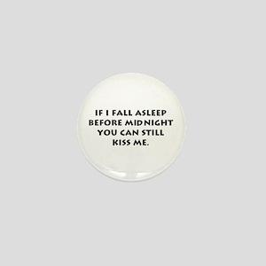 Funny New Year Mini Button