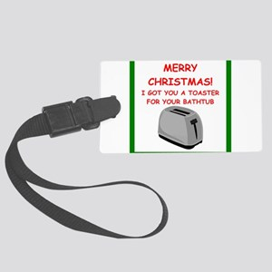 christmas Luggage Tag