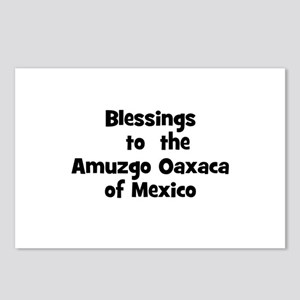 Blessings  to  the  Amuzgo Oa Postcards (Package o
