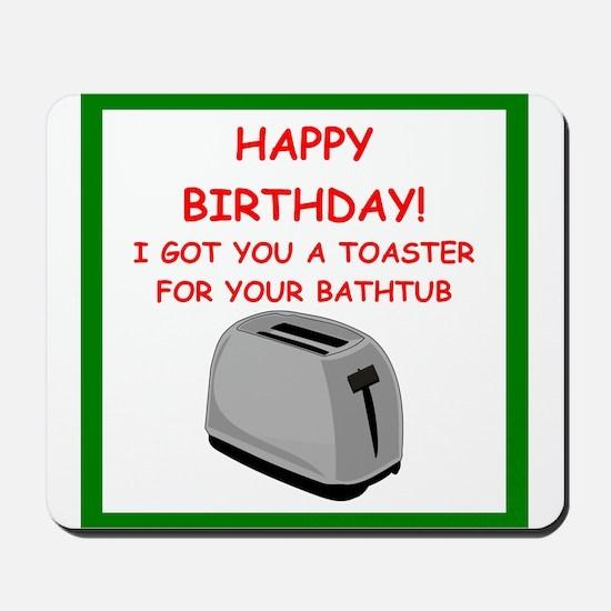 birthday Mousepad