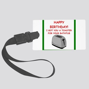 birthday Luggage Tag