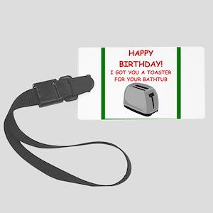 birthday Luggage Tag