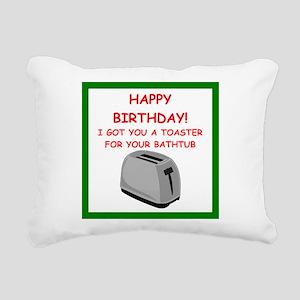 birthday Rectangular Canvas Pillow
