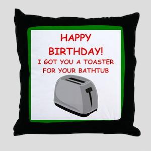 birthday Throw Pillow