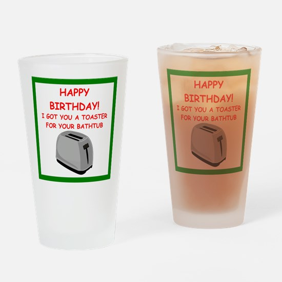 birthday Drinking Glass