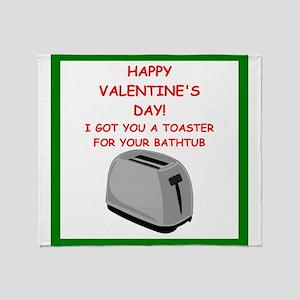 toaster Throw Blanket
