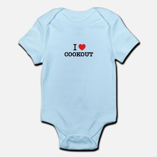 I Love COOKOUT Body Suit
