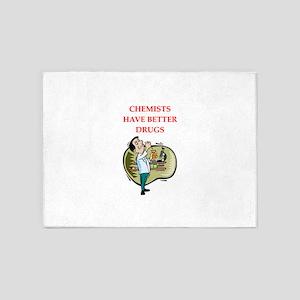 chemist 5'x7'Area Rug