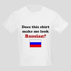 Make Me Look Russian Kids Light T-Shirt