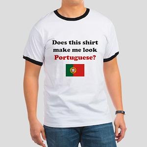 Make Me Look Portuguese Ringer T
