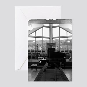 Black and White Classic Photo Greeting Card