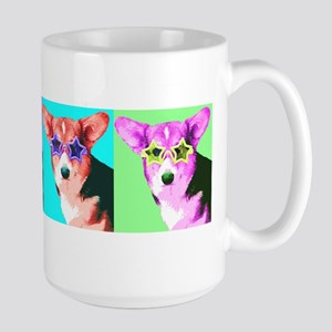 Welsh Corgi Star Large Mug