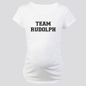 Team Rudolph Maternity T-Shirt